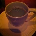 京BAR さかい - 帰りはデミタスカップで、梅昆布茶