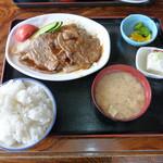 味処 東 - 焼肉定食