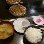 お好み焼き 仁 - 豚玉ランチ