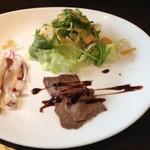 グラデボール - 料理写真:ランチセットの前菜