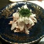 酒湊 - タコの梅肉和え