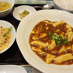 中華料理 五行山 - 麻婆豆腐定食 700円