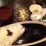 金魚坂 - ビーフ黒カレー