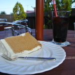 サッポロ珈琲館 - 紅茶のシフォンケーキ アイスコーヒー
