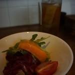 デルソーレ - 前菜サラダ