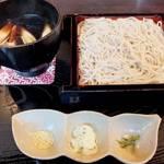 14335075 - 「鴨せいろ」(¥1,580):最後に立ち食い蕎麦を食べたのは何時だったのか。記憶がサッと蘇る♪