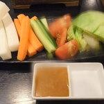 14336272 - 2012/7/15 三浦産地野菜の盛り込み