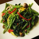チャイナムーン - 季節野菜の炒め物★日頃不足しがちなお野菜を美味しく補給