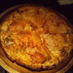 オレンジ ルーム - 続いてピザパイです!