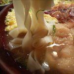 名古屋名物 きしめん専門店 きじ屋 - きしめんの麺