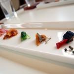 恵泉 - 料理写真:ランチの前菜盛りあわせ