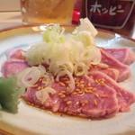 こん平 - 2012.8 たん刺し(400円)