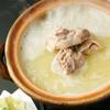 さかえや - 料理写真:コラーゲン水炊き鍋。上質な鶏ガラスープで旨みが凝縮★