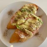 CAFERISTA - アスパラガスとプロシュートのオープンサンド