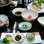 須川高原温泉 - 須川高原温泉・夕食その1