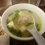 イム アロイ - ランチセットのスープ