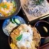 とっちゃん - 料理写真:ミニかつ丼セット(冷たいそば)