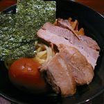 つけ麺屋しずく - 全部入りつけ麺・2012/8