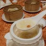 中国料理 李芳 - 太刀魚と豆腐のとろみスープ