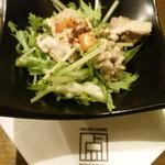 くつろぎの邸宅 ともる - 冷たい豚しゃぶサラダ ~胡麻ドレッシング