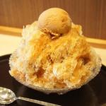 菊丸 - キャラメル氷あずき(780円)♥