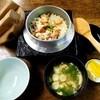 瀬戸美 - 料理写真:「釜飯+刺身」 定食 \2,100