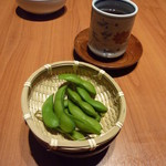 最上亭 - 日本料理(夜) まずは、だだちゃ豆