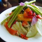 職人館 - 野菜盛合せ