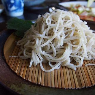 職人館 - 料理写真:御膳蕎麦(蕎麦の芯のみを使用)