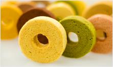 パティスリーブラザーズ - 【カラーバウムクーヘン】野菜やフルーツを使った、しっとりふんわり、カラフルで小さなバームクーヘンです。