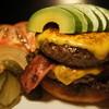 コーナーズグリル - 料理写真:アボガドダブルハンバーガー