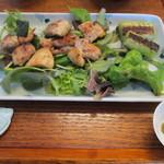 浅田屋るりり - 蕎麦屋の焼鳥(塩)