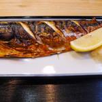 とらさんキッチン - 焼き魚定食の、鯖の塩焼き
