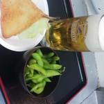奉天軒 - 生ビールセット