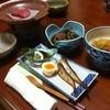 和食堂 みやじま - 料理写真:前菜、魚の煮付け、肉じゃが、陶板焼き