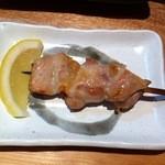 とり料理なか山 - かしわ(おすすめセット1000円)