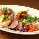 ichi - 料理写真:前菜の盛り合わせ