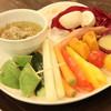 アボカフェ - 料理写真:アボカドと季節野菜のバーニャカウダー