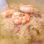 慶楽 - スープチャーハン(上湯炒飯)
