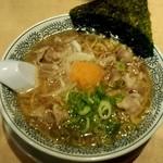 丸源ラーメン - 肉そば♡(¥650)