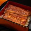 千寿 - 料理写真:鰻重特上(3,500円)肝吸いと香の物つき