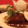 洋風レストラン Soleil - 料理写真:本格デミグラスたっぷりハンバーグ 単品¥1,050 セット¥1,750