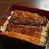 喜久 - 料理写真:うな重(2,700円)肝吸い、香の物、デザートつき
