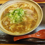 八味一心 - 正油ラーメン(麺:ふつう) 600円
