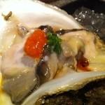 山沙商店すし芳 - 岩牡蠣♪
