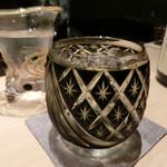 すし正 参玄 - 焼酎のグラス