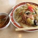 ぎん八 - スープ付き