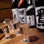 IZAKAYA混 - 日本酒たち