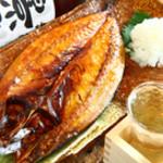 ろばた 翔 - 料理写真:小名浜産の伴助干物
