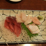 こじま寿司 - 刺身1人前